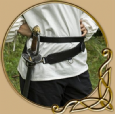 LARP Sword leather  belt